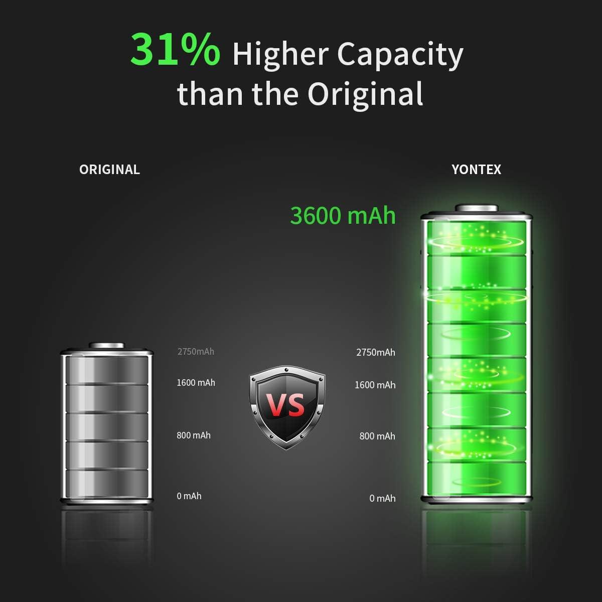 Accessories Internal Batteries gaixample.org YONTEX High ...