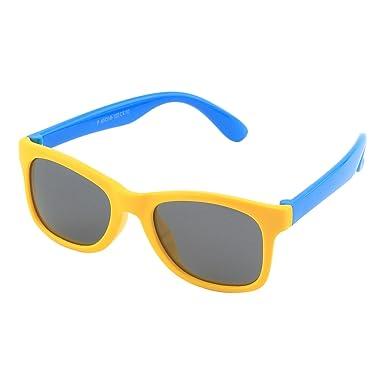 5173a85828c3ed CGID caoutchouc flexible enfants lunettes de soleil polarisées pour bébé et  enfants 3-6 ans