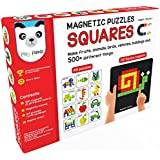 Play Panda Magnetic Puzzles Squares With 250 Magnets 100 Puzzles Magnetic Board Display Stand