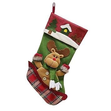 Meigold - Bolsas de Navidad para Dulces y Manzanas: Amazon ...