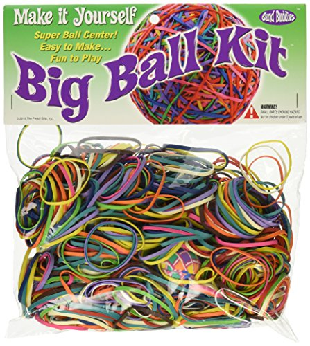 Pencil Grip One Pounder Make It Yourself Rubber Band Ball Kit, TPG-521 (Rubber Bands Ball)