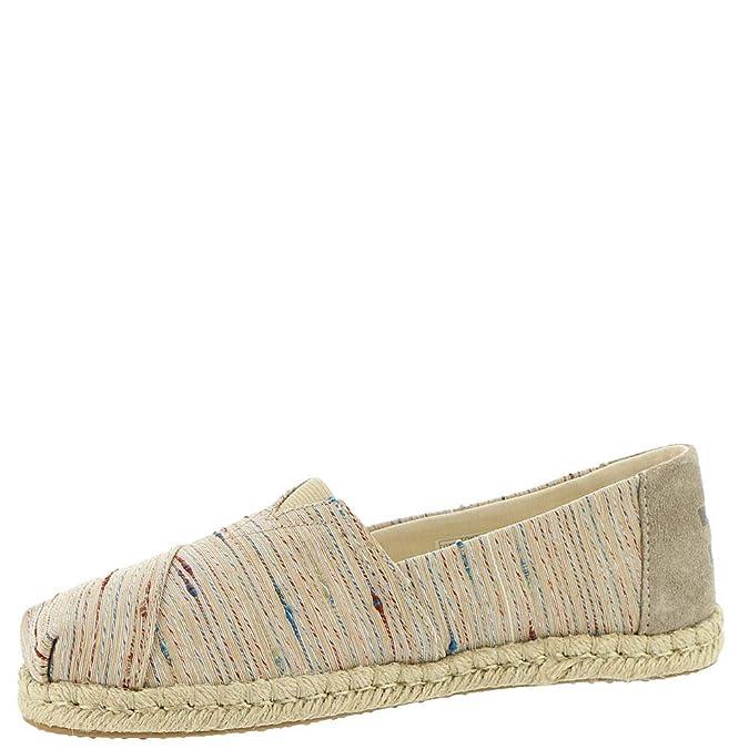 TOMS 10013506, Alpargatas para Mujer, Beige (Birch Metallic 001), 38.5 EU: Amazon.es: Zapatos y complementos
