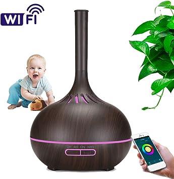 Difusor de Aceites Esenciales Wifi Aromaterapia Inteligente ...