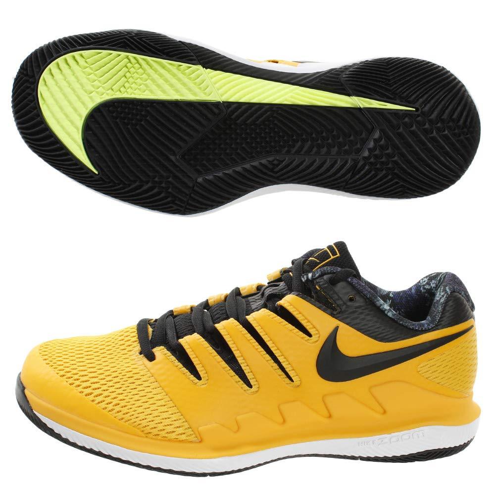 MultiCouleure (University or noir blanc Volt Glow 700) Nike Air Zoom Vapor X HC, Chaussures de Tennis Homme 40 EU