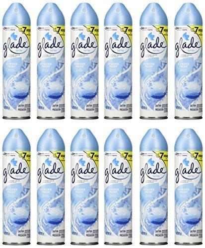 glade-aerosol-air-freshener-powder-fresh-8-ounce-pack-of-12