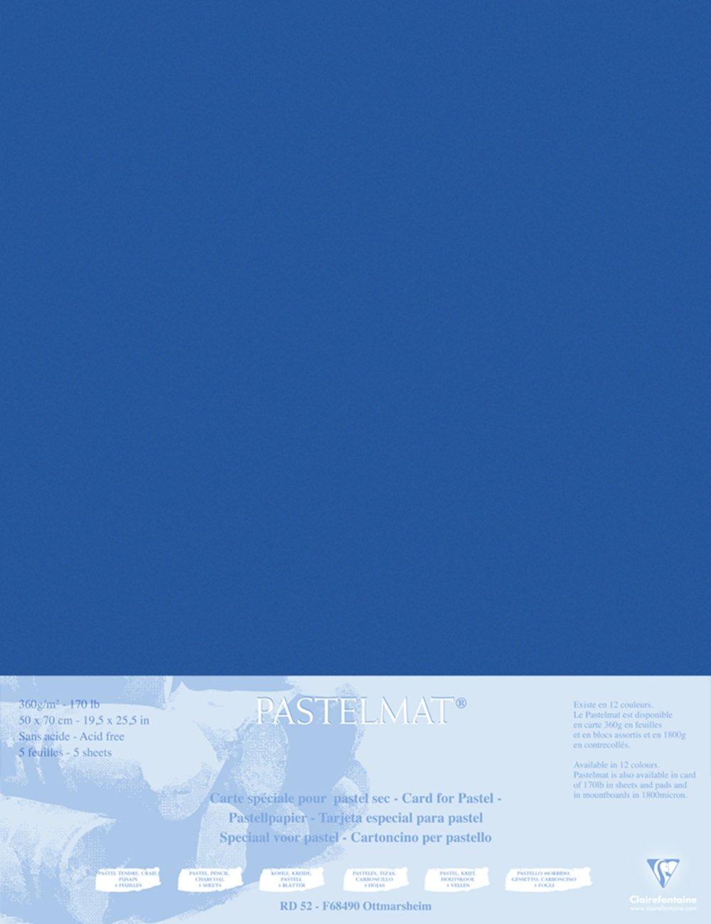 Clairefontaine Clairefontaine Clairefontaine 96011C Packung (mit 5 Zeichenbögen Pastelmat, 50 x 70 cm, 360 g, ideal für Trockentechniken und Pastell) braun B00ZFYUFSS   Verschiedene Arten und Stile  5fbb59