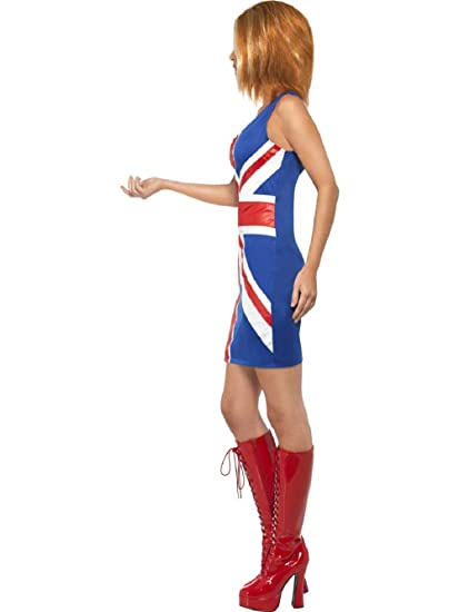 Amazoncom Mypartyshirt Ginger Spice Spice Girls Womens Costume