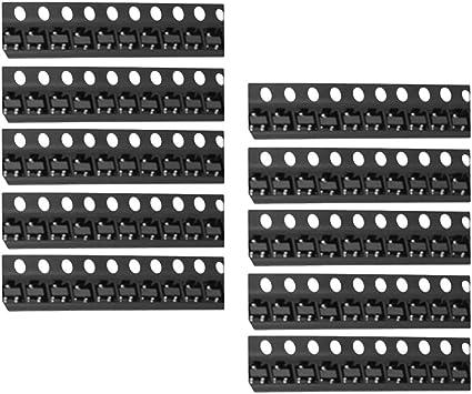 MMBT3904 (1AM Perfeclan 100Pcs 2N3904 SOT-23 J3Y S8050 SMD NPN Transistor
