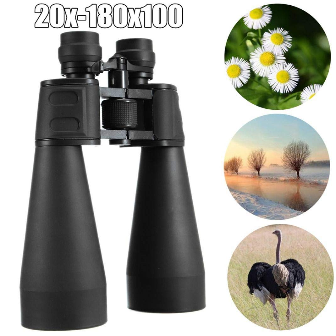 piRA8, Telescope, Travel, Telescope 20-180x100 Bird Watching Binoculars Zoom for Outdoor Camping Spotting Scopes.