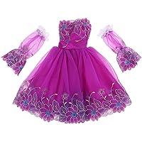 Baosity Puff Sleeve Off Shoulder Dress Gown for 1/3 BJD LUTS DOD Night Lolita Doll