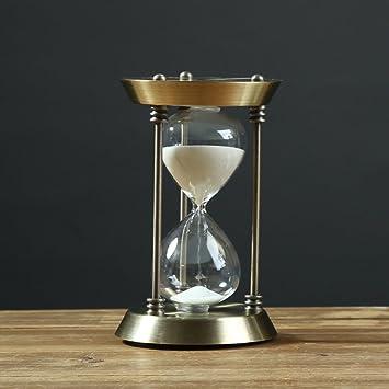 reloj de arena metal adornos/Muebles de la oficina de la sala de estar del-A: Amazon.es: Hogar