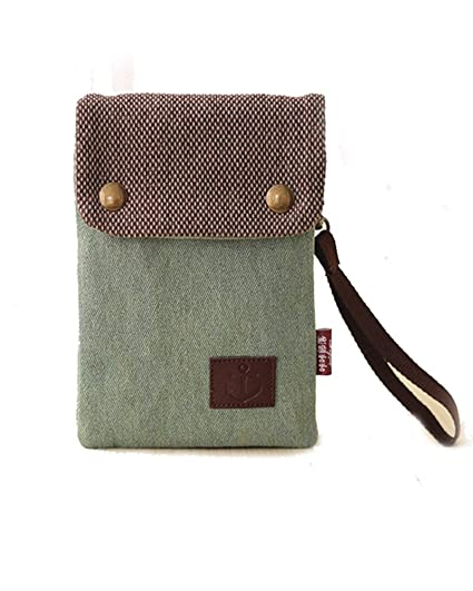 35fc3cf5efb Women Girls Denim Canvas Crossbody Shoulder Bag Mini Purse Wallet Card  Holder Cellphone Pouch