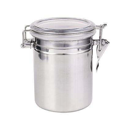 Acero inoxidable Sealed vasos Set 4 pice y alimentos ...