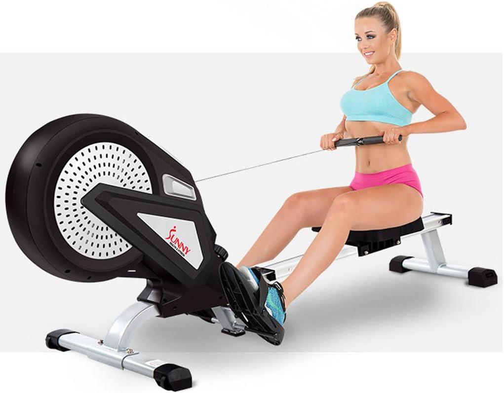 Big seller Máquinas de Remo Equipo de Deportes Interior de la liquidación de la máquina de Rowing de la Resistencia del Viento Que dobla la máquina de remar de plegamiento.