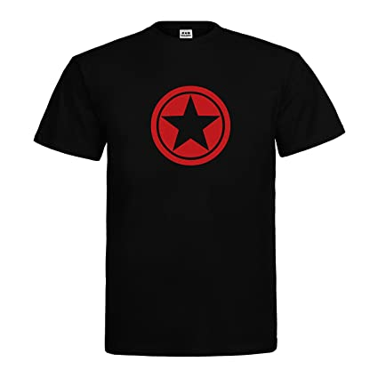 dress-puntos Herren T-Shirt Star Circle Stern Kreis drpt-t00023: Amazon.de:  Bekleidung