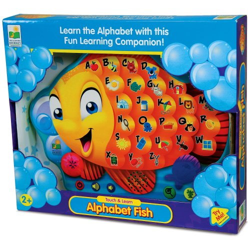 The Learning Journey Touch & Learn, Alphabet Fish