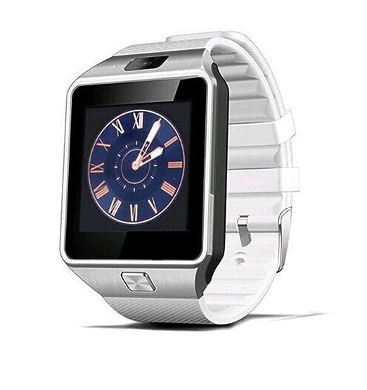 Ml HD Bluetooth reloj inteligente con cámara para Samsung S5/Note 2/3/4, Nexus 6, HTC, Sony, LG, Huawei, Smartphones Android: Amazon.es: Relojes