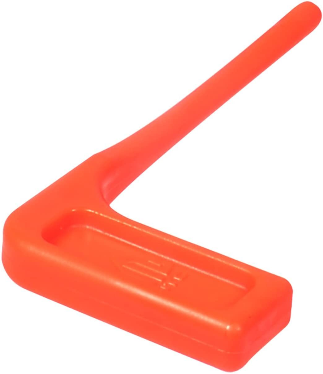 UTG Universal Firearm Chamber Safety Flag, Orange, 6PCs/Set