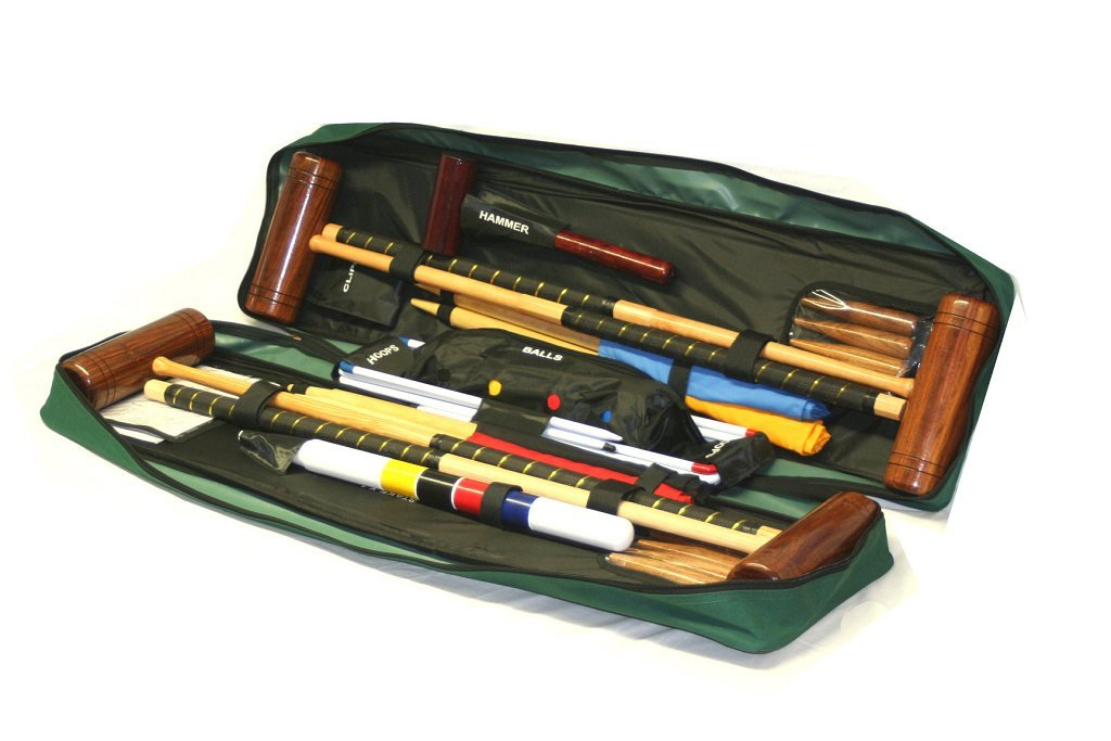 Garden Games Townsend Croquet Set (4 players in a Tool Kit Bag) by Garden Games