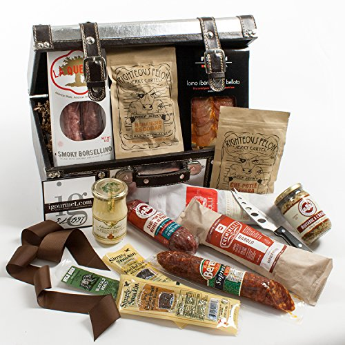 KaBloom Gift Basket Collection: A Meat lover's Gourmet Gift Case by KaBloom