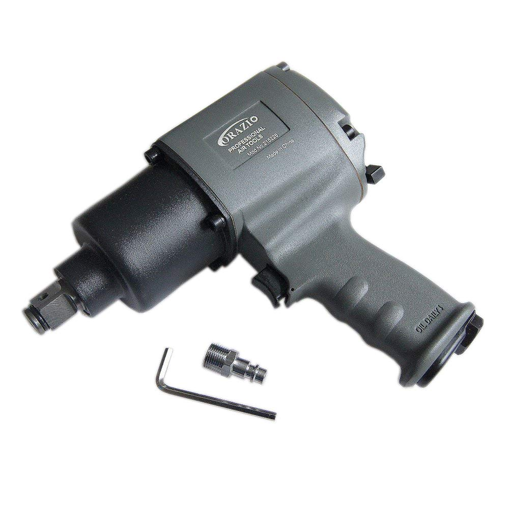 Merry Tools HK - Outil Compresseur 3/4' Résistant Clé Impact Air Double Marteau Cliquet 1200N.M 215226