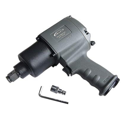 Merry Tools HK - Compresor de Trinquete de Martillo Doble de Llave de Impacto Neumática de