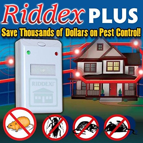 RIDDEX PLUS PESTREPELLER by RIDDEX MfrPartNo HD00010