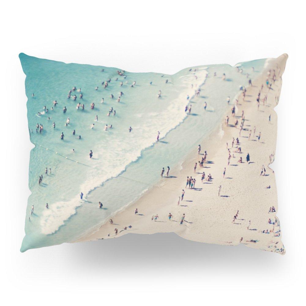 Society6 Beach Love V Pillow Sham Standard (20'' x 26'') Set of 2
