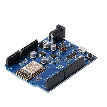 Avanzada WeMos D1 WiFi ESP8266 Desarrollo inalámbrico Tarjeta Compatible Arduino UNO Programa Para Arduino IDE