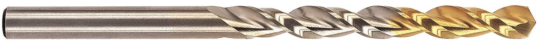 Parabolic Spiral YG-1 High Speed Steel Gold-P Jobber Drill Bit 130 Degree Straight Shank TiN Finish 7.0mm Diameter x 142mm Length Pack of 10