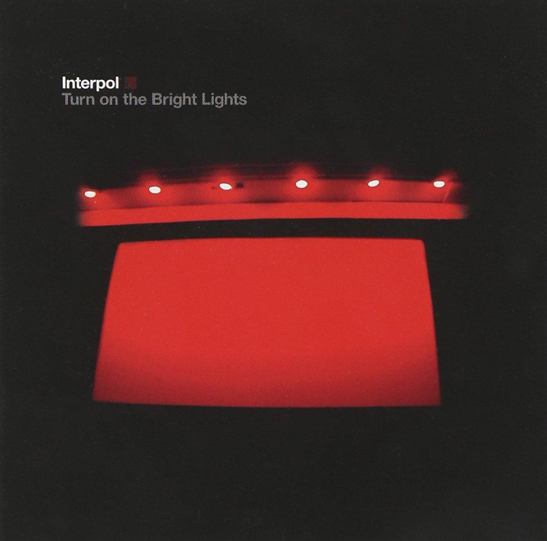 CD : Interpol - Turn on the Bright Lights (CD)