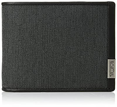 Tumi Men's Alpha Global Double Billfold Wallet with RFID Blocking
