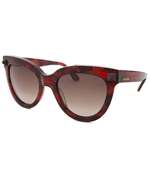 Valentino Gafas de Sol V722S 52 (52 mm) Burdeos: Amazon.es ...