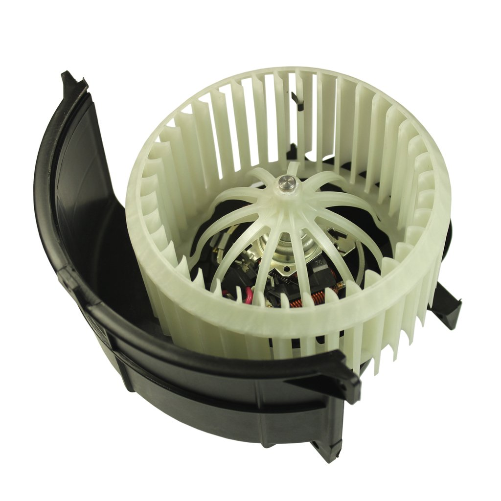 JDMSPEED New Heater Blower Motor & Cage Front For Audi Q7 Volkswagen VW Touareg