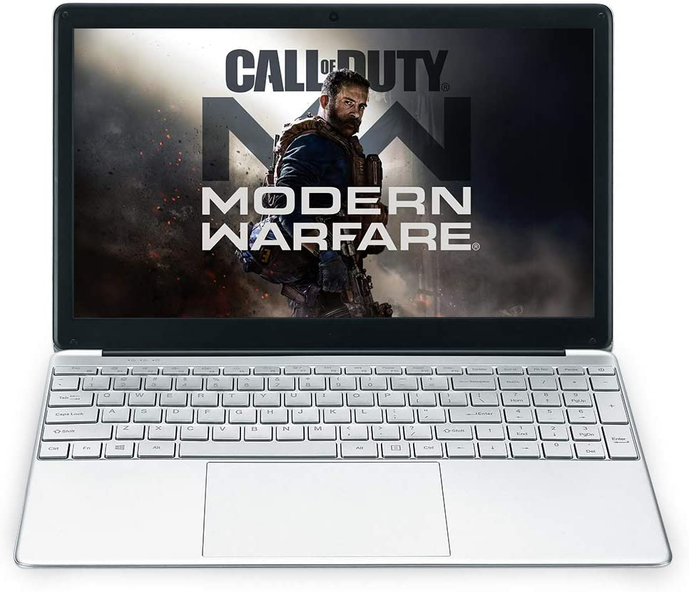 2020 15.6 inch Laptop, IPS Display, Intel 64-bit Quad-core celeron_j3455 Processor, 8GB RAM, 256GB SSD, scalable 1TB SSD Solid State Drive, Backlit Keyboard, Windows 10 Pro