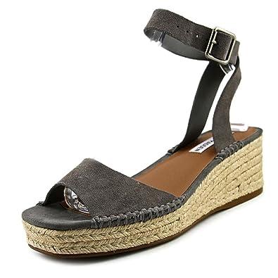 a2e3353cefa Steve Madden Womens Elody Grey Size: 7 UK: Amazon.co.uk: Shoes & Bags
