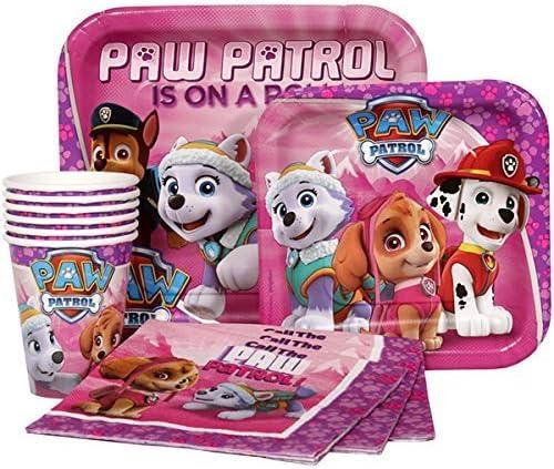 Amazon.com: Paw Patrol rosa Girl s los niños fiesta de ...