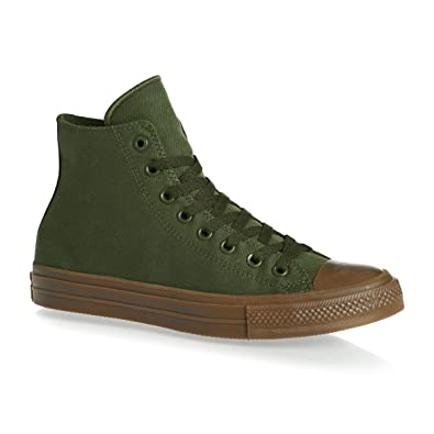 f260e273d864 Amazon.com  Converse Chuck Taylor All Star Ii High Mens Sneakers Green   Shoes