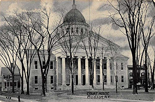 Hudson New York Court House Antique Postcard J63681