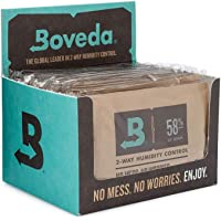 Boveda for Herbal Storage   58% RH 2-Way Humidity Control   Size 67 Protects Up to 1 Pound (450 Grams) Flower   Prevent…