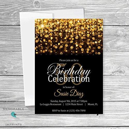 Amazon gold birthday invitations classy birthday invitations gold birthday invitations classy birthday invitations gold and black birthday invitations birthday invitations filmwisefo