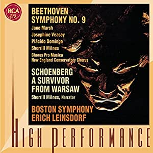 """Beethoven: Symphony No. 9 """"Choral""""; Schoenberg: A Survivor from Warsaw, Op. 46"""