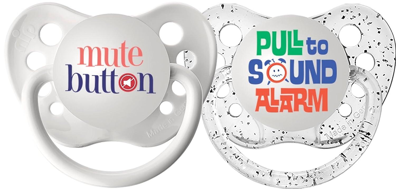 Amazon.com: Ulubulu Expression - Chupete, 0-6 mes: Baby
