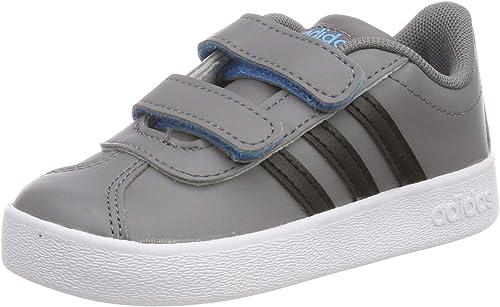 adidas VL Court 2.0 CMF I, Chaussures de Fitness Mixte Enfant