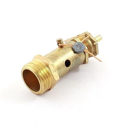 Sourcingmap - 1/2 pt protector de válvula de alivio de presión de seguridad de