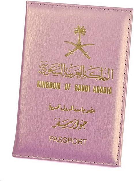 LIUCM Passport Cover Long Style Card Wallet Women Men Travel Storage Supplies Passport Card Holder Orange
