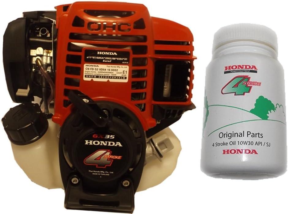 Motor Honda GX35 con embrague centrífugo + aceite GX35TST4 GX35TST3 de 100ml