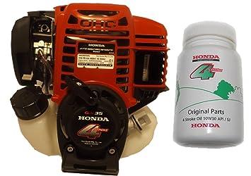 Motor Honda GX35 con embrague centrífugo + aceite GX35TST4 ...