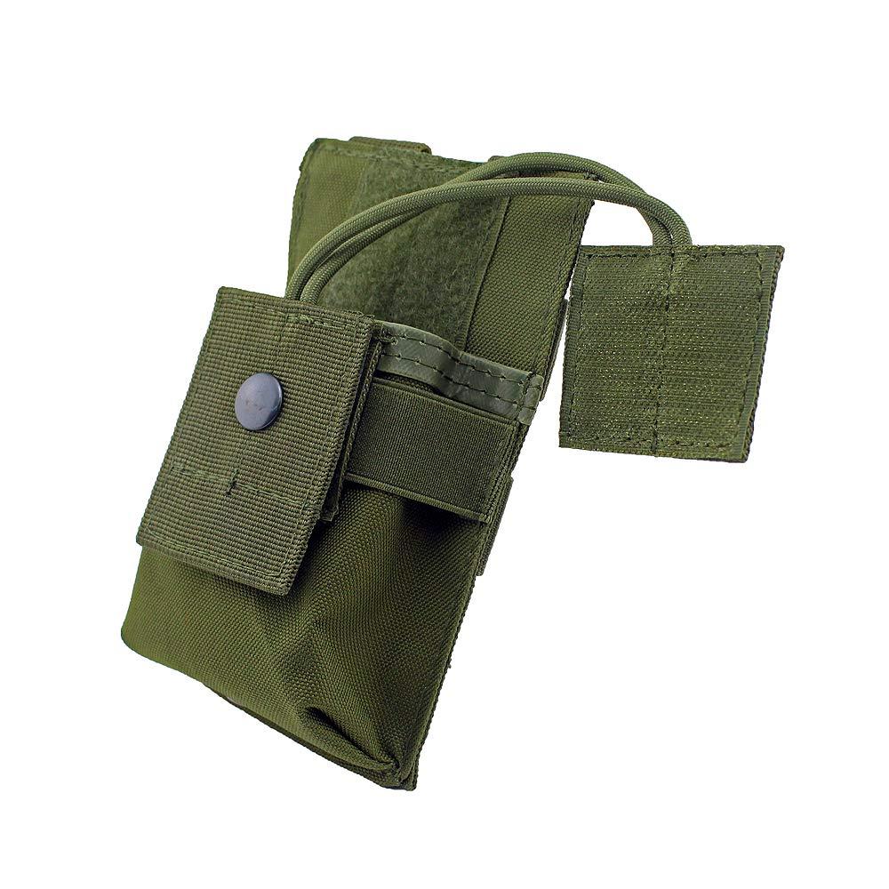 5 Couleurs en Option Gexgune Porte-/étui de Radio Tactique Holster Talkie-walkie Holster Pochette /à molette Ajustable Magazine Ouvert M4 Mag Pouch