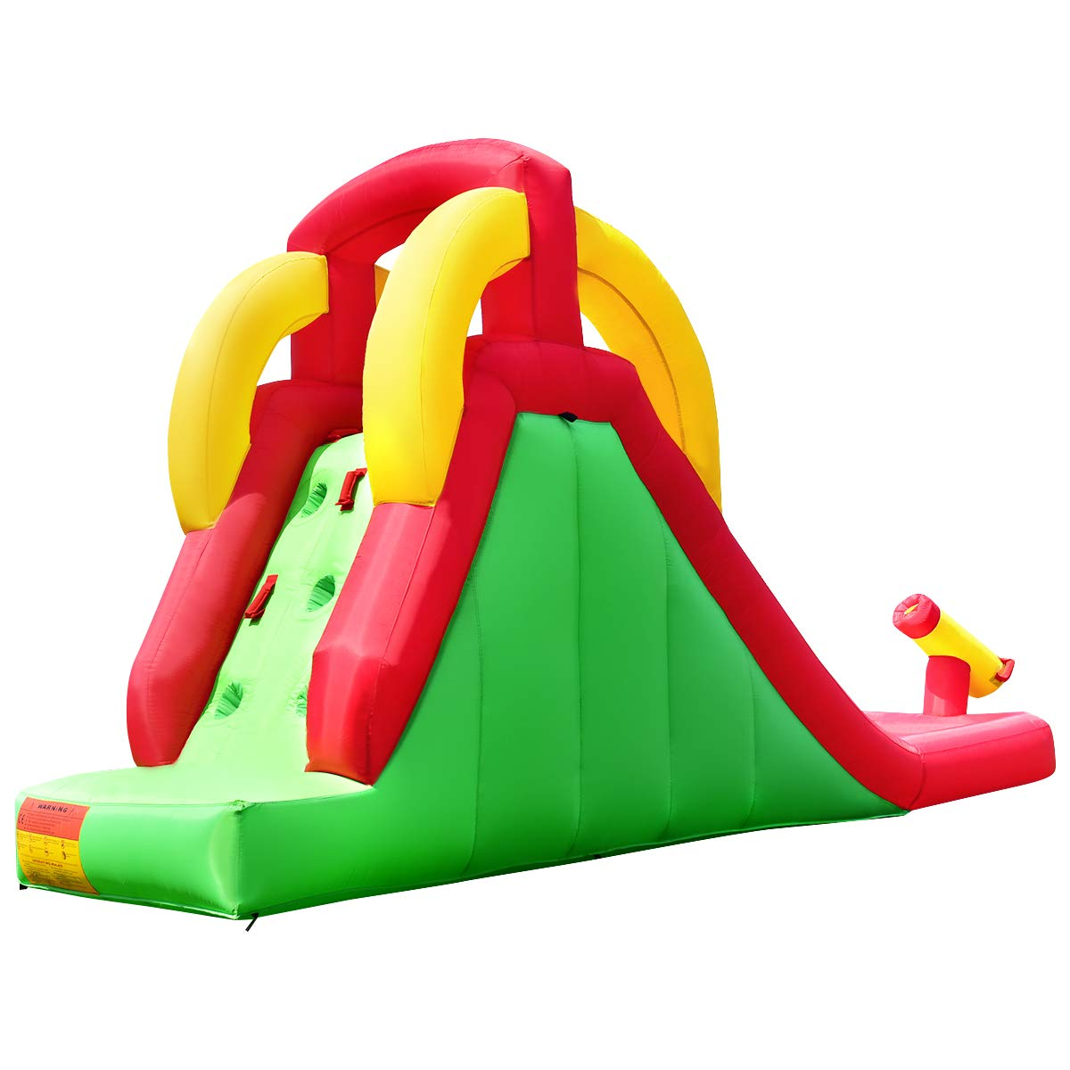Costzon Inflatable Water Slide, Climb and Slide Bouncer for Kids Without Blower by Costzon (Image #5)
